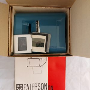 Vintage Paterson Portable Viscount Viewer voor Dia's binnenkant doos