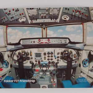 Fokker poster F27 Friendship