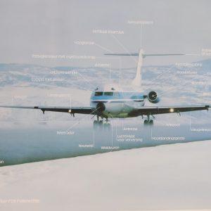 Fokker F28 poster