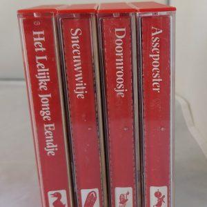 sprookjes verhalen op cassetteband