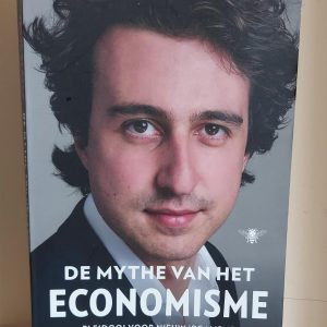 De mythe van het economisme - Jesse Klaver cover