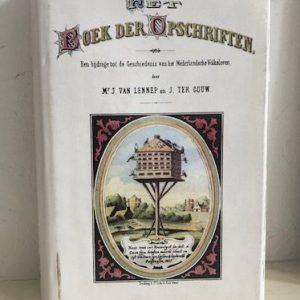 Het boek der opschriften cover